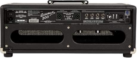 FENDER Bassman 500 Head Baskytarový hybridní zesilovač