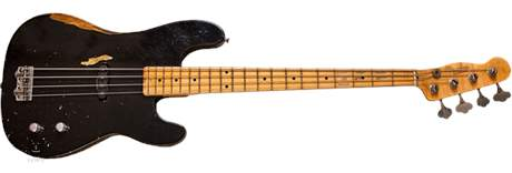 FENDER Dusty Hill Precision Bass BK Elektrická baskytara