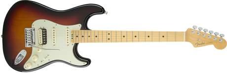 FENDER American Elite Stratocaster HSS Shawbucker MN 3TSB Elektrická kytara