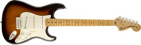 FENDER American Special Stratocaster MN 2TSB Elektrická kytara