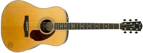 FENDER PM-1 Deluxe Dreadnought NA Elektroakustická kytara