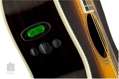 FENDER PM-2 Deluxe Parlor VS Elektroakustická kytara