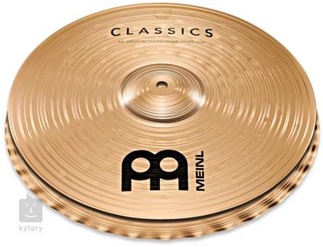 "MEINL 14"" Classics Medium Soundwave Hi-hat Činely hi-hat"