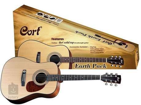 CORT Earth Pack OP Kytarový komplet