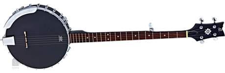 ORTEGA OBJE250OP-SBK Elektroakustické banjo
