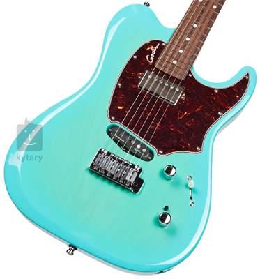 GODIN Session Custom 59 Limited Coral Blue HG RN Elektrická kytara
