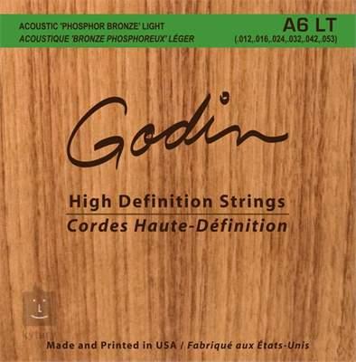 GODIN Strings Acoustic Guitar LT Kovové struny pro akustickou kytaru