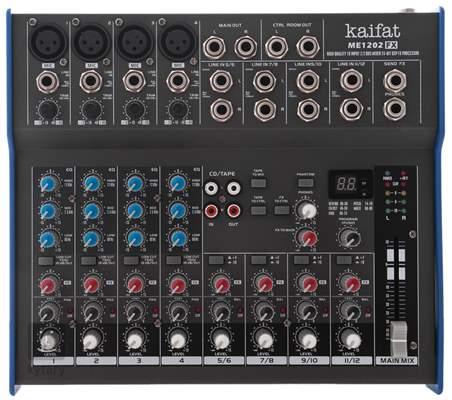 KAIFAT ME 1202 FX Analogový mixážní pult