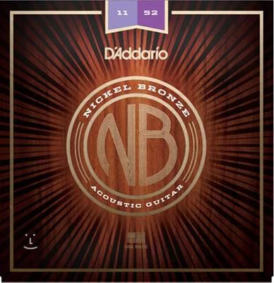 D'ADDARIO NB1152 Kovové struny pro akustickou kytaru