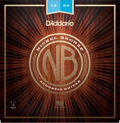 D'ADDARIO NB1253 Kovové struny pro akustickou kytaru
