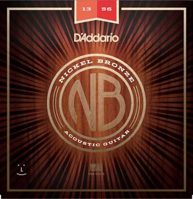 D'ADDARIO NB1356 Kovové struny pro akustickou kytaru