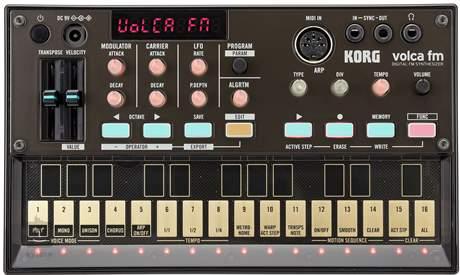 KORG Volca FM Polyfonní digitální syntezátor