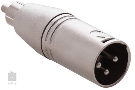 RELOOP Adaptor XLR M / RCA M Redukce
