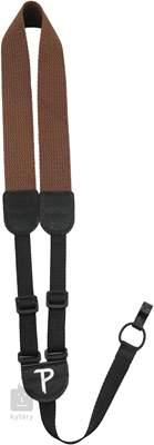 PERRI'S LEATHERS 6658 Ukulele Cotton Brown Popruh pro ukulele