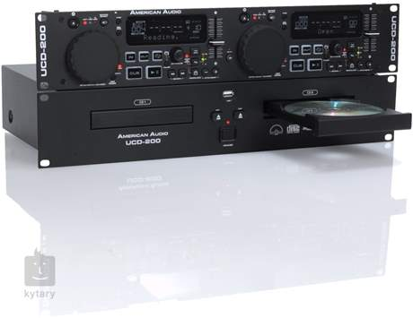 AMERICAN DJ UCD200 MKII DJ přehrávač