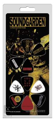 PERRI'S LEATHERS Soundgarden Picks I Signature trsátka