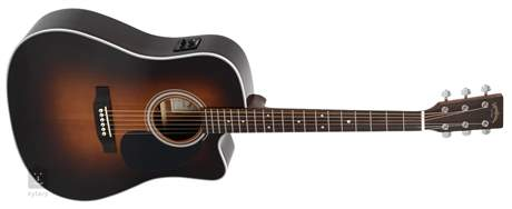 SIGMA GUITARS DRC-1STE-SB Elektroakustická kytara