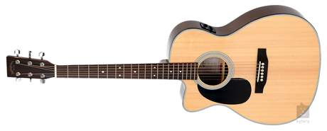 SIGMA GUITARS 000MC-1STEL Levoruká elektroakustická kytara