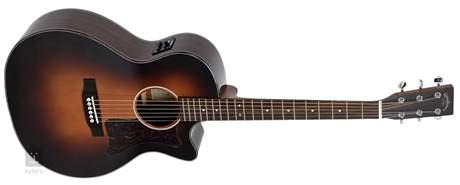 SIGMA GUITARS GRC-1STE-SB Elektroakustická kytara