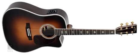 SIGMA GUITARS DRC-41E-SB Elektroakustická kytara