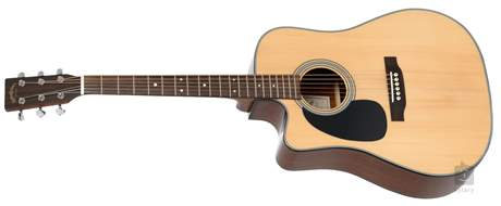 SIGMA GUITARS DMC-1STEL Levoruká elektroakustická kytara