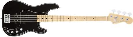 FENDER American Elite Precision Bass MN BK Elektrická baskytara