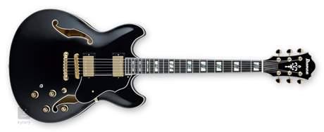 IBANEZ AS153B-BK Semiakustická kytara