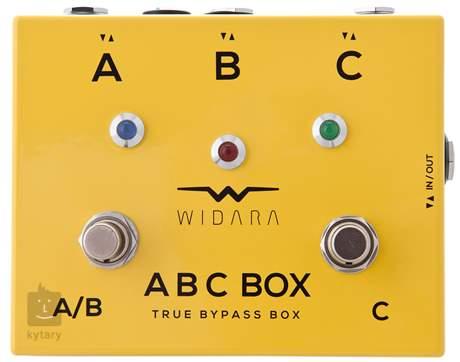 WIDARA ABC Box Yellow Signálový přepínač