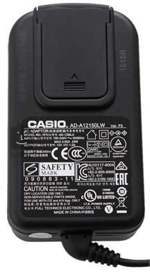 CASIO AD12150 Síťový adaptér