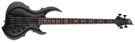 ESP LTD TA-204FRX BLKS Elektrická baskytara