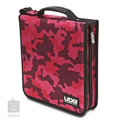 UDG Ultimate CD Wallet 128 Digita Camo Pink Pouzdro