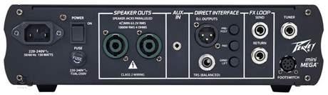 PEAVEY MiniMEGA 1000 Baskytarový tranzistorový zesilovač