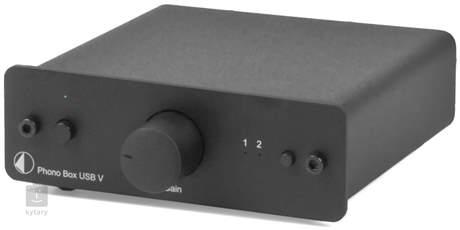 PRO-JECT PHONO BOX USB V - BK Předzesilovač