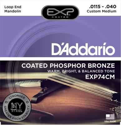 D'ADDARIO EXP74CM Struny pro mandolínu