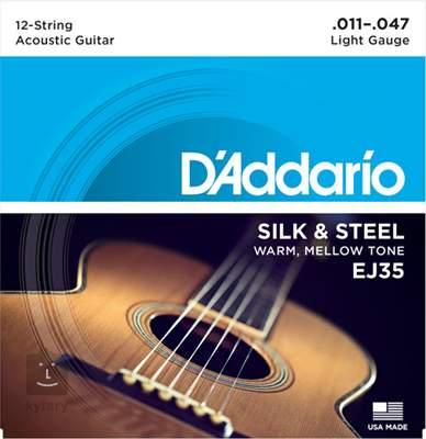 D'ADDARIO EJ35 Struny pro dvanáctistrunnou kytaru