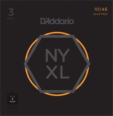 D'ADDARIO NYXL1046-3P Struny pro elektrickou kytaru