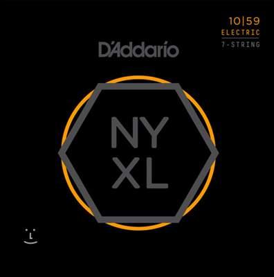 D'ADDARIO NYXL1059 Struny pro sedmistrunnou elektrickou kytaru