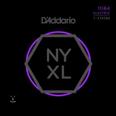 D'ADDARIO NYXL1164 Struny pro sedmistrunnou elektrickou kytaru