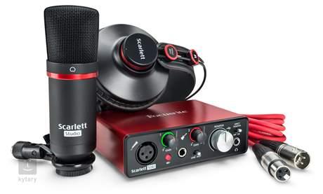 FOCUSRITE Scarlett Solo Studio Pack-2G Balíček pro domácí nahrávání