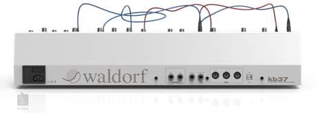 WALDORF KB37 Eurorack kontroler