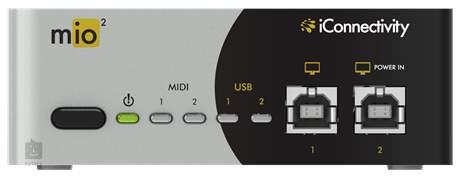 ICONNECTIVITY MIO2 (rozbalené) Midi převodník