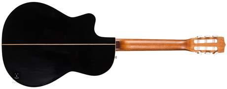 LA PATRIE Hybrid CW Black B-Band Crescent Klasická elektroakustická kytara