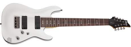 SCHECTER Omen-8 2012 VWHT Elektrická osmistrunná kytara