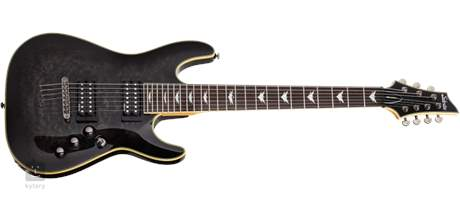 SCHECTER Omen Extreme-7 STBLK Elektrická sedmistrunná kytara