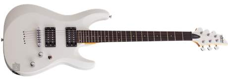 SCHECTER C-6 Deluxe SWHT Elektrická kytara