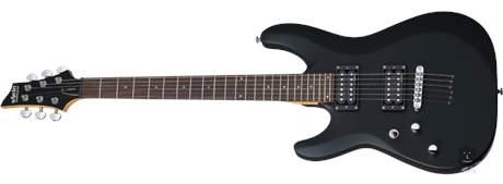 SCHECTER C-6 Deluxe LH SBK Levoruká elektrická kytara