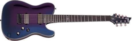 SCHECTER Hellraiser Hybrid PT-7 UV Elektrická sedmistrunná kytara