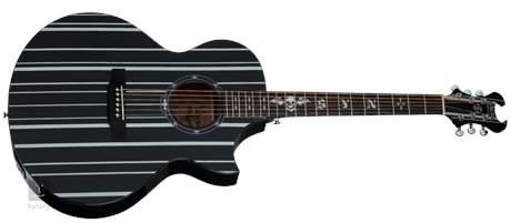 SCHECTER Synyster Gates-AC GA SC-Acoustic BLK Elektroakustická kytara