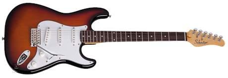 SCHECTER Traditional Standard M/R 3TSB Elektrická kytara