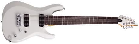 SCHECTER C-8 Deluxe SWHT Elektrická osmistrunná kytara